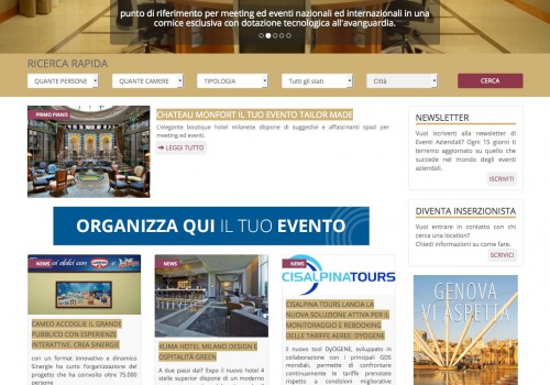 Eventi aziendali – Italy business events